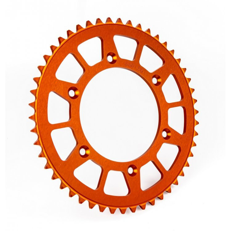 Pinion spate KTM Freeride 350 '12-'17 / 250 R '14-'17 / 250 F '18-'19 Aluminiu RACING orange (48 dinti) JTA891.48  99348ROEE