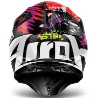 Casca Airoh Twist Crazy Black Gloss