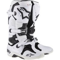 Cizme Alpinestars Tech 10 White Vented