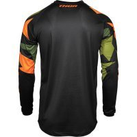 Tricou Thor Sector Warship Green/Orange